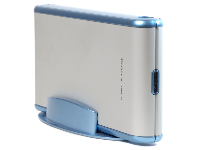 External hard drives are popular backup option.