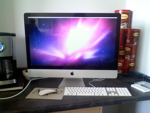 Imac fan goes into hyper-speed.