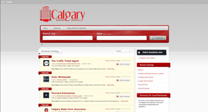 Calgary Businesss Directory Page