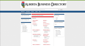 Alberta Businesss Directory Page