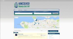 Vancouver Businesss Directory Page