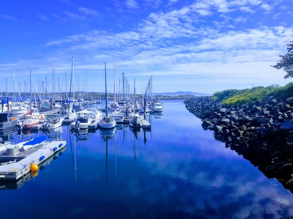 A view of a Marina in Victoria