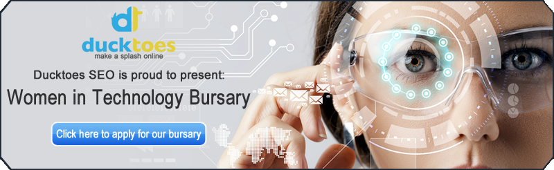 Ducktoes SEO Calgary is pleased to announced a bursary for women studying technology.