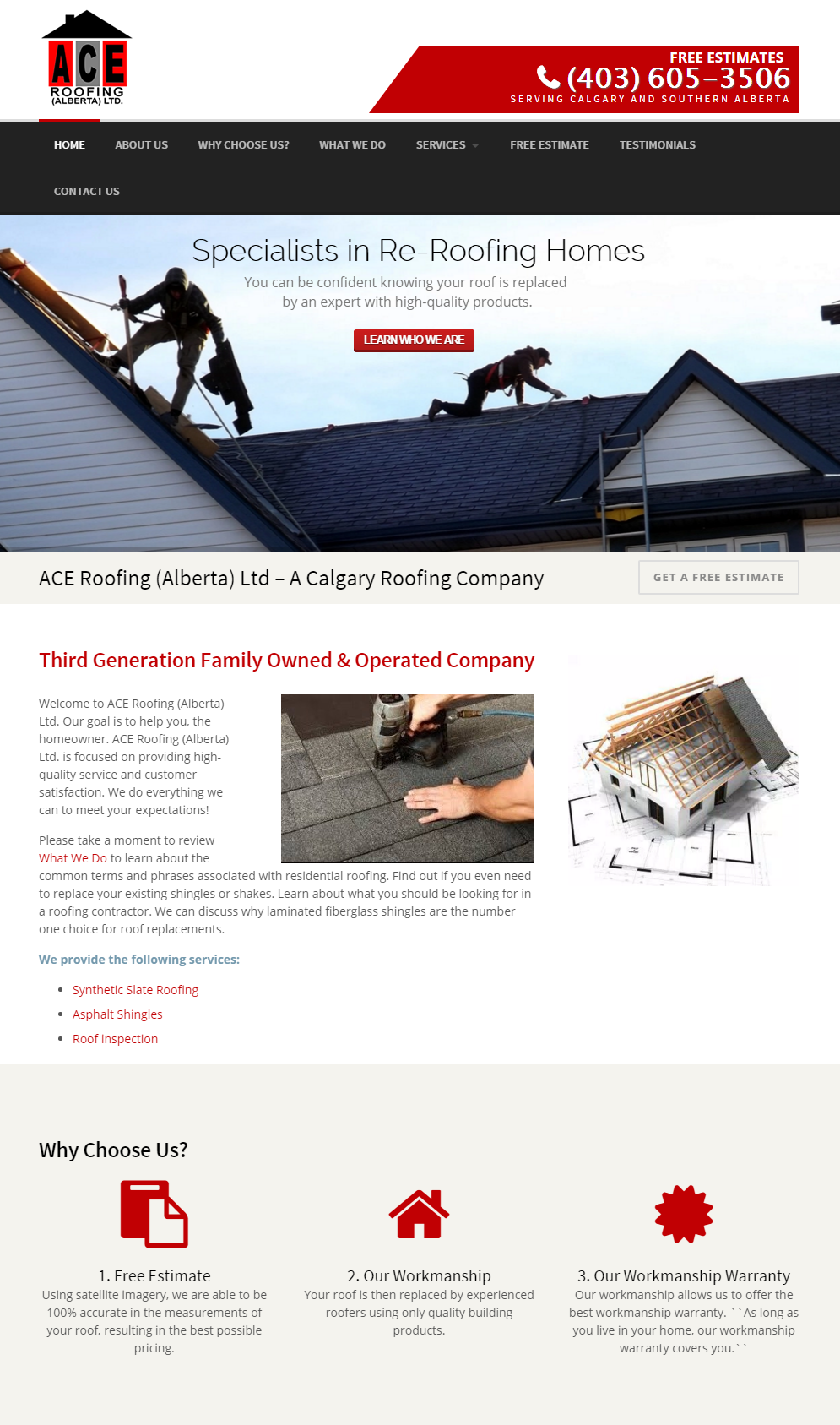 ... Ace Roofing ...